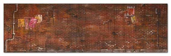 Contact US >> Photo :: 38 Gritty city brick wall