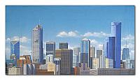 16 Melbourne city skyline